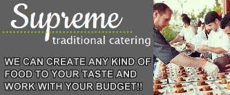Supreme Catering-Traditional catering