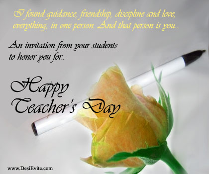 Desievite teachers day a tribute to their efforts in addition to that the process of sending e cards is very simple dont think a lot just visit desievite and send teachers day e card today stopboris Choice Image