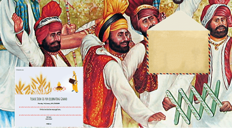 Mehndi Party Invitation Template : Free lohri invitation card & online invitations