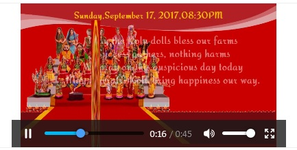 Free navratri festival invitation card online invitations how to create navratri invitation video for whatsapp stopboris Image collections