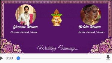 Indian wedding invitation video maker online free invitation card indian invitation cards video maker online invitations with rsvp stopboris Images