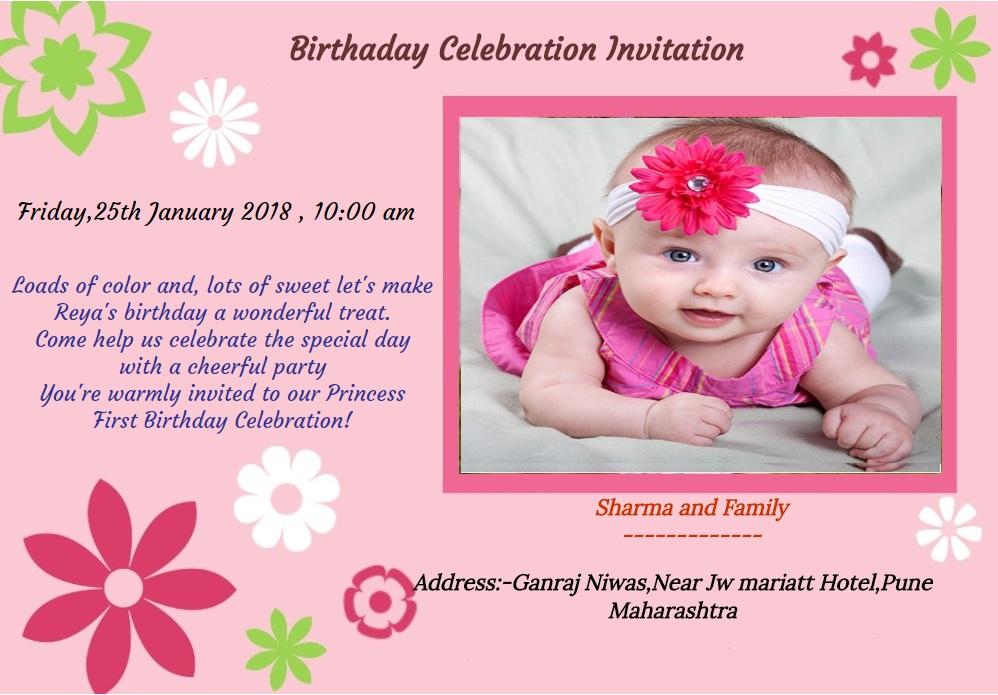 birthday invitation for whtsapp 104