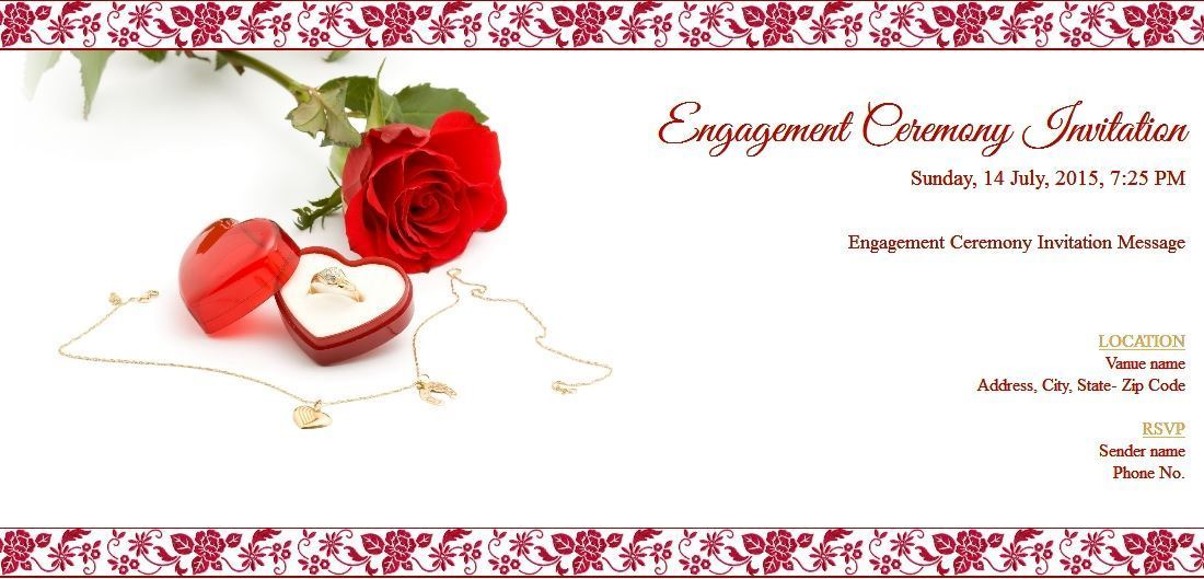 engagement ceremony invitation 209 80