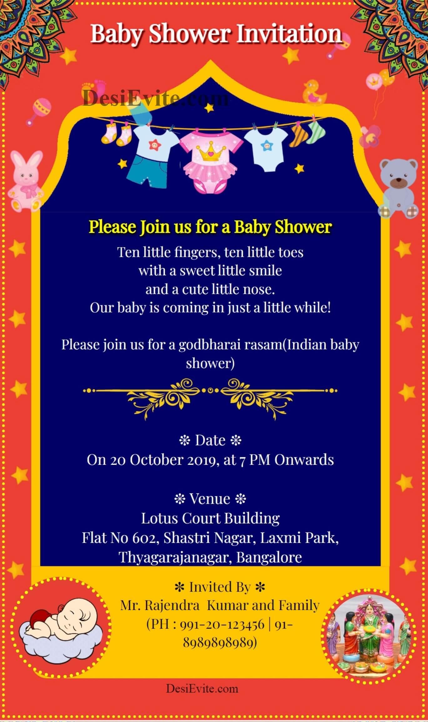 indo-western-baby-shower-card