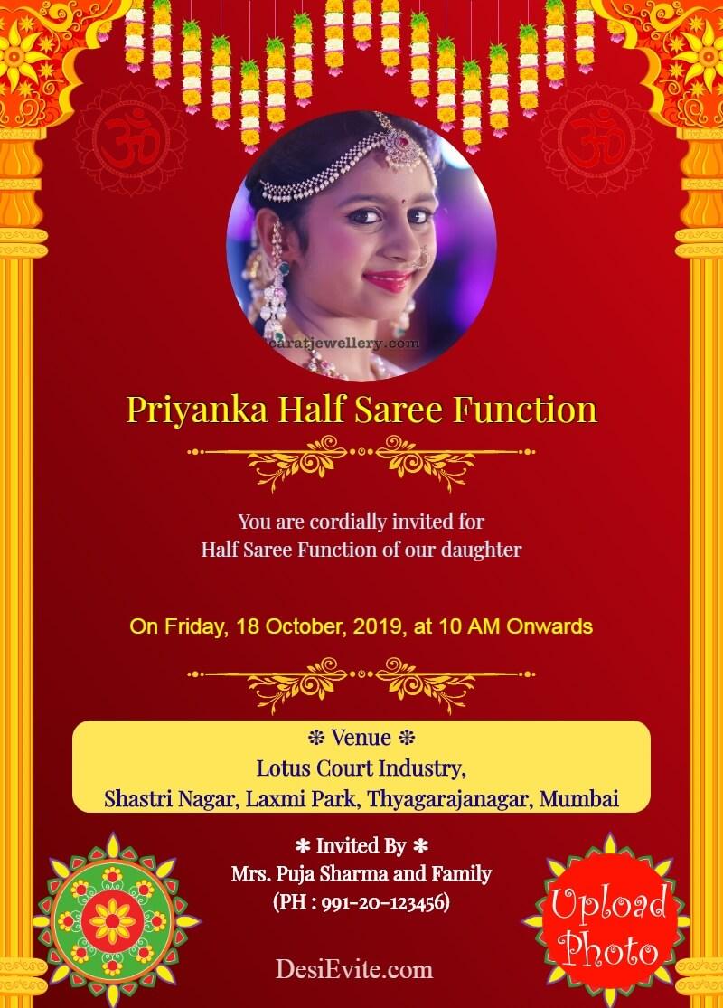 traditional-half-saree-function-with-2-photos