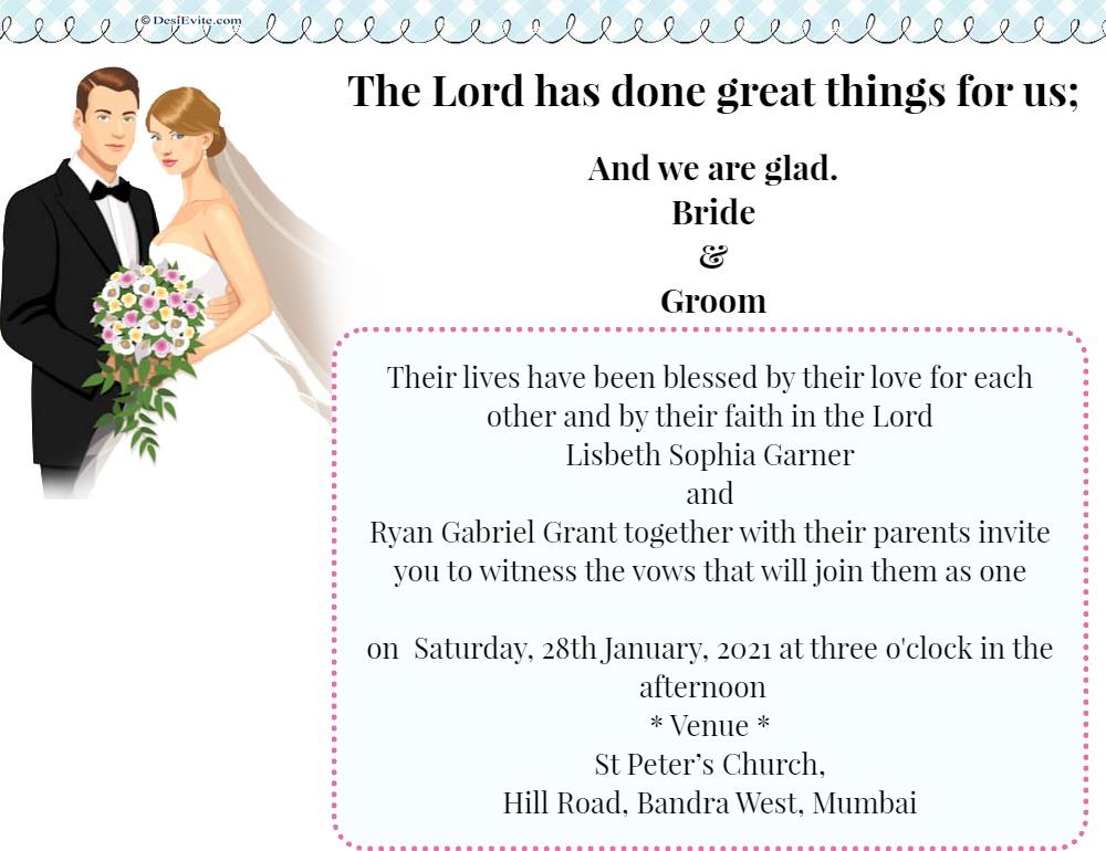 wedding invitation cristan 88