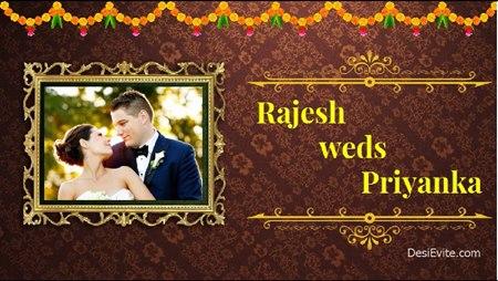 wedding invitation video free poster 82