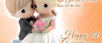 Secret of happy marriage Anniversary e-card