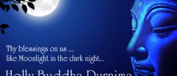 Thy blessing on us Holly Buddha Purnima ecards