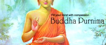 Fill your mind with compassion Buddha Purnima ecards