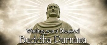 Wishing you a blessed buddha Purnima ecards