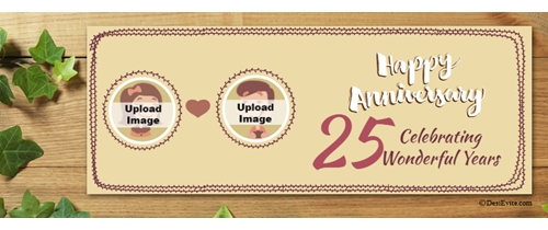Facebook Event RSVP Merriage Anniversary 25 Cover
