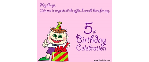 Hey Guys Join my Unpack all the gift i would have for my 5th Birthday