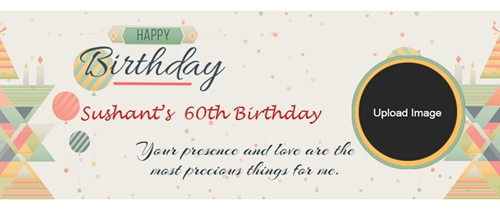 Facebook Event RSVP 60th Birthday