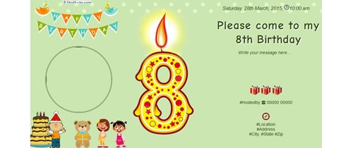 Free Th Birthday Party Invitation Card Online Invitations - Free online invitation cards for birthday party