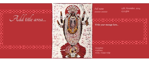Free kali puja invitation card online invitations kaali puja invitation spiritdancerdesigns Image collections