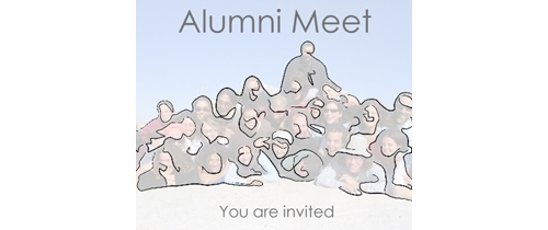 Hello freinds join the Alumni Meet party