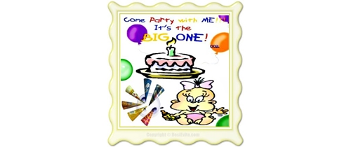 Come all and joun the fun our baby is turning 1st