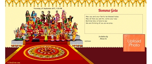 Bomma golu celebration