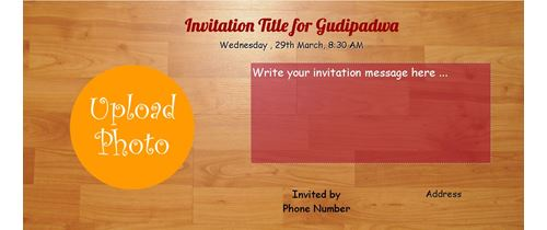 Gudi Padwa Invitation