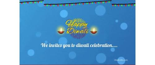 Diwali Invitation Video For Whatsapp