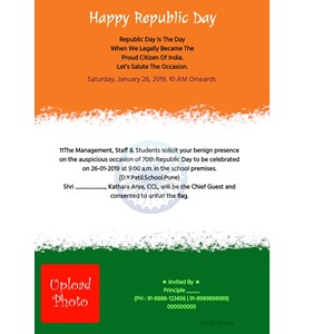 Republic-Day-Invitation-Card-with-Programme-school-logo