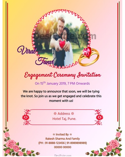 Engagement-Invitation-Card-With-Heartshape-Photo-Upload