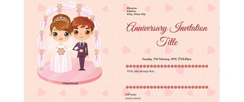 Happy Anniversary Invite you all in our first anniversary party