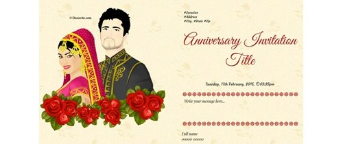 Its my Anniversary you are Invited