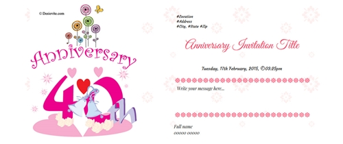 25th Anniversary Come and lets join the party