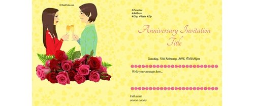 Lets have a party.. Happy Anniversary