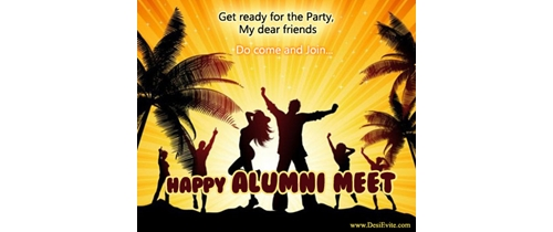 Get ready for Alumni Meet party