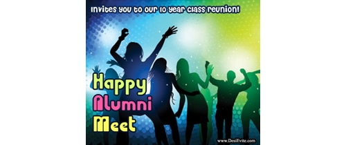 Alumni Meet you are invited