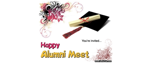 You are invited on Alumni Meet party