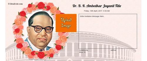 Join us for Ambedkar Jayanti
