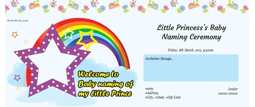 Little Princess`s Baby Naming Ceremony