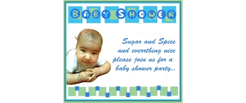 Sugar and spice and everything nice please join us for baby shower party