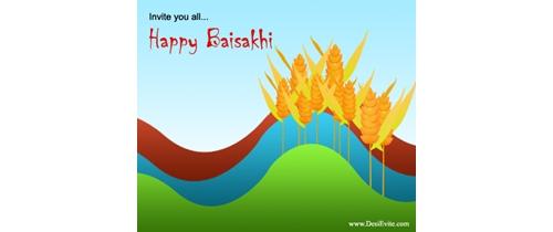 Invite you on Baisakhi