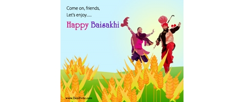 Come on friends lets celebrate Baisakhi