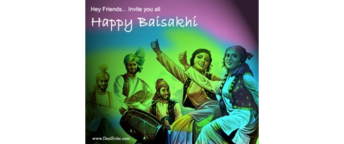 Hey friends Invite you all on Baisakhi