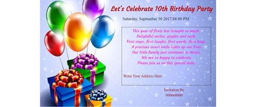 free birthdays invitation card online invitations