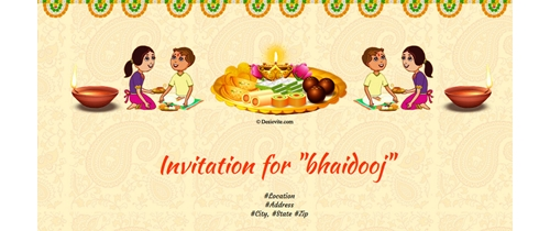 Bhaidooj - To my beloved brother
