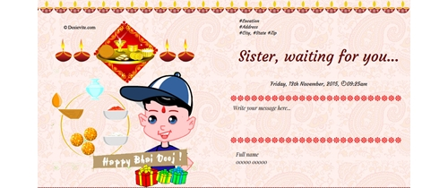 Bhai Dooj - Love of sister