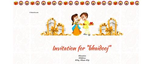 Bhai Dooj - a ritual of brother and sister