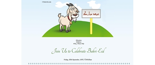 Celebrating Bakri-Eid