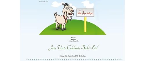 Celebrating Bakri-Eid