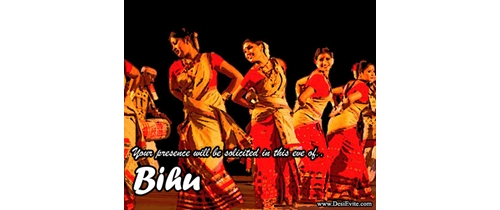 Come and enjoy the dance of Bihu Festival