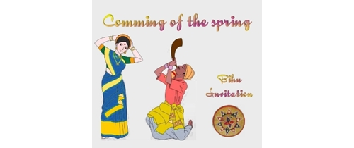 Coming  of spring please join the Bihu Celebration