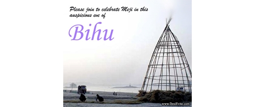 Please join to celebrate Bihu Festival