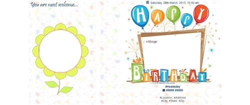 Free birthday party invitation card online invitations birthday party invitation stopboris Choice Image